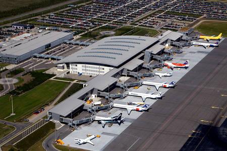Dänemark Flughafen