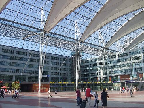 München Airport Transport Zentrum Zum Flughafen S Bahn S1