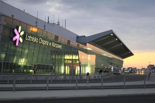 Abflug Warschau