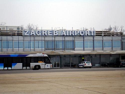 Zagreb Airport Transport Flughafen Ins Zentrum Bus Taxi